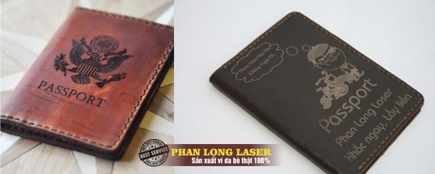 Ví Bóp da đựng Passport làm bằng tay thủ công tại Đà Nẵng và Cần Thơ