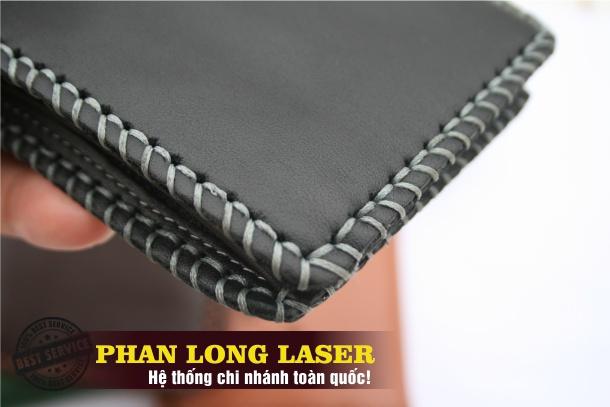 Bán Sỉ, Bán Lẻ Ví Da, Bóp Da may bằng tay thủ công Handmade khắc tên laser