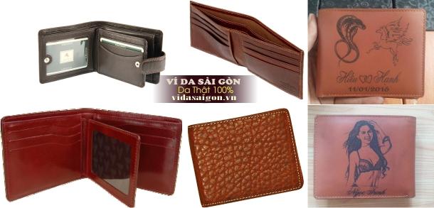 Địa chỉ sản xuất ví da Sài Gòn tại Cầu Giấy Hà Nội